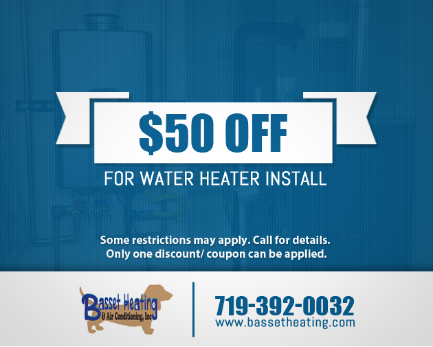 $50 OFF FOR WATER HEATER INSTALLATION