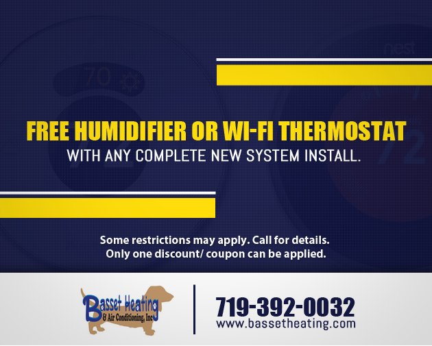 FREE HUMIDIFIER OR WI-FI THERMOSTAT