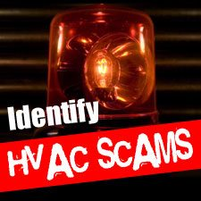 common heating repair scams