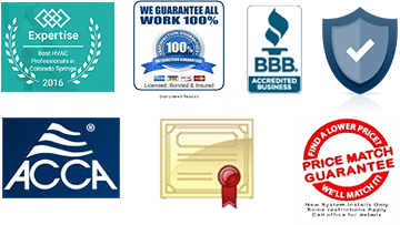 Icons of certifications and price match guarantees